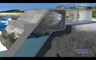 Ocean Energy –  Wave Power Station