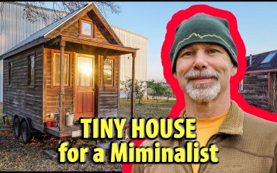 Adventure Style Tiny House for a Rock Climber