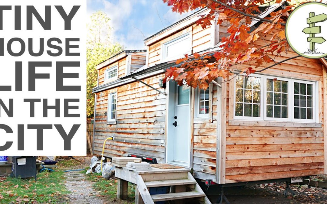 Woman Ditches Mortgage to Build a Tiny House on Wheels