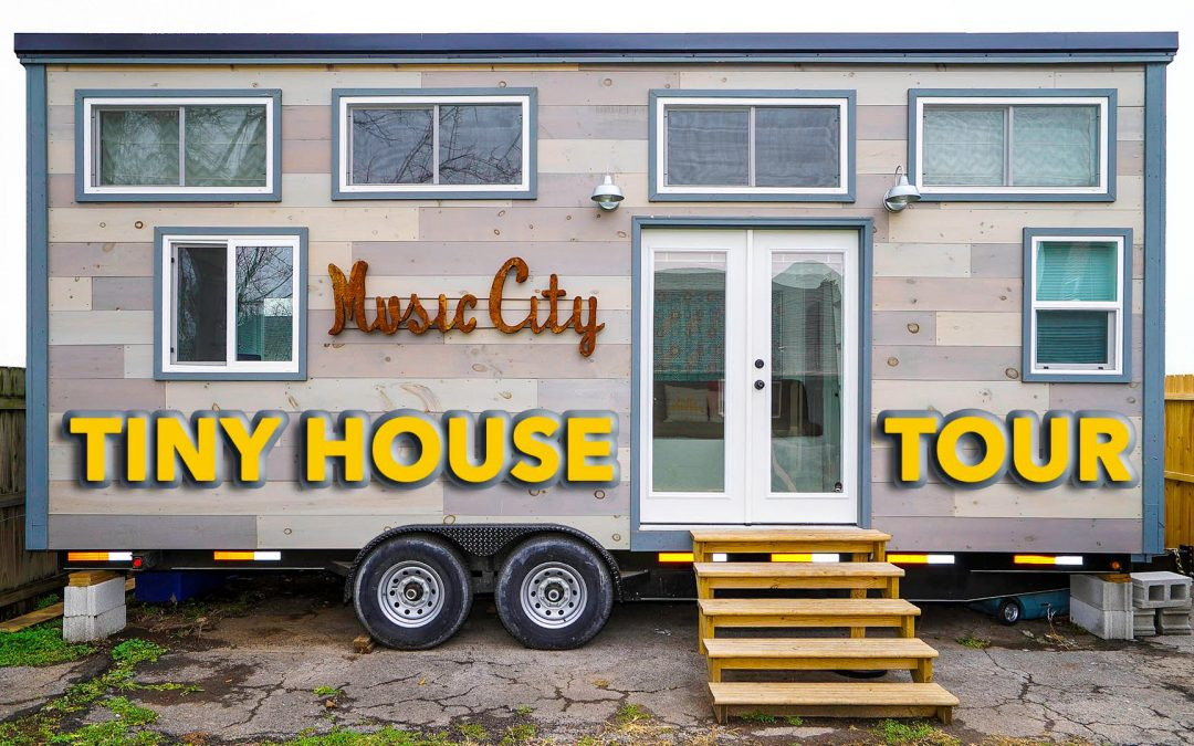 Modern Tiny House With Two Lofts