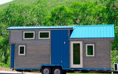 Blue Sapphire Tiny House on Wheels From Simblissity Tiny Homes