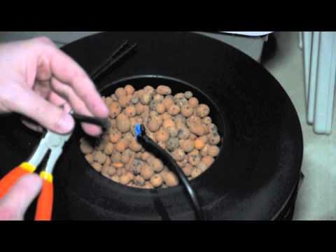 DIY Hydroponics Top Drip Bucket System