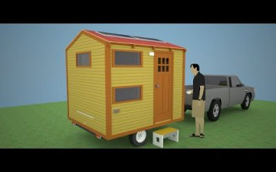 Redhawk Micro-Cabin: World's Smallest House on Wheels!