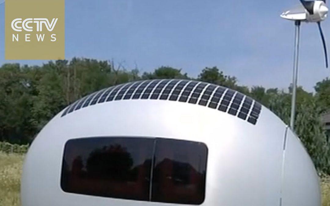 Slovak Architects Design Self-Sustaining Mobile Home
