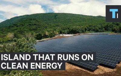Tesla and Solar City's Island That Runs on Clean Energy