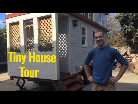 Tour of Tiny House Cottage on Wheels – Oakland CA