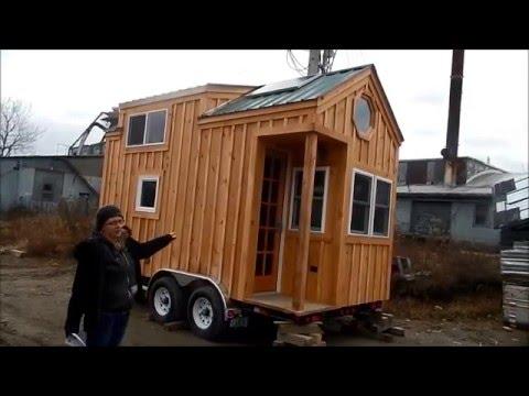 8×16 Tiny House on Wheels Tour