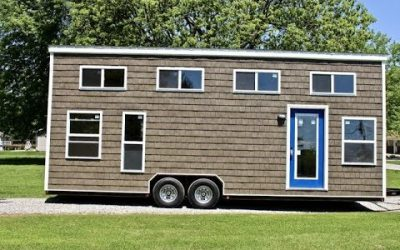 A 3-Bedroom Tiny House on Wheels in Missouri.