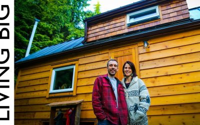 This Couple's Natural Eco Tiny House Is a True Stunner!