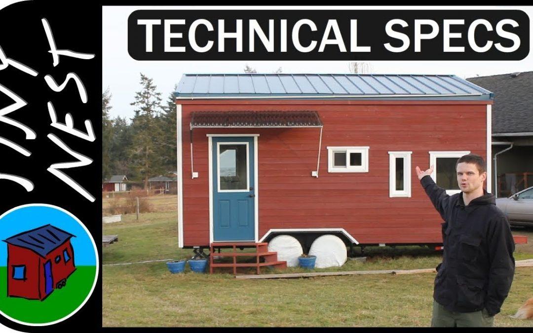 Tiny House on Wheels Technical Specs