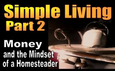 Simple Living Part 2. Monet & The Mindset of a Homsteader