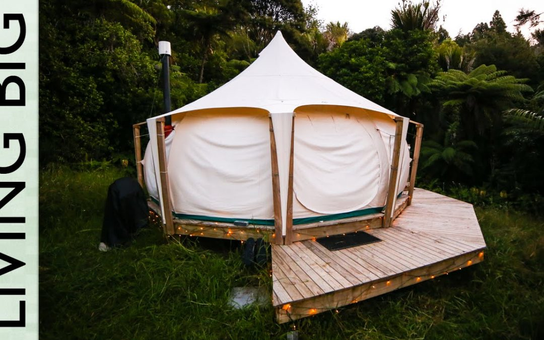Escaping the Rent Trap – Simple Living in a Lotus Belle Tent