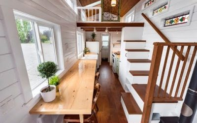 Retired Couple Living in Tiny House Bliss