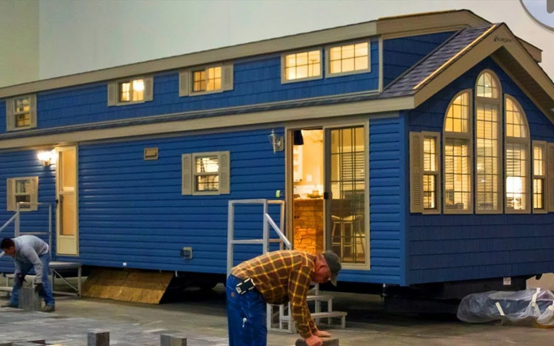The Kropf Island Series Tiny House on Wheels